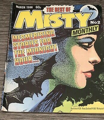 The Best Of Misty Monthly Comic No 2 Second Edition March 1986 - Rare !!