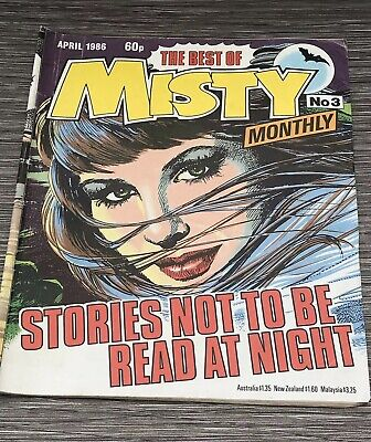 The Best Of Misty Monthly Comic No 3 Third Edition April 1986 - Rare !!