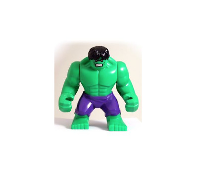 100% Genuine Lego Super Heroes Big Figure HULK Avengers Minifigure 76018