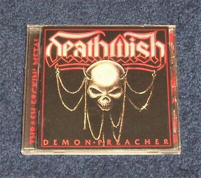 Deathwish - Demon Preacher CD metal thrash exciter deathrow sadus RARE OOP