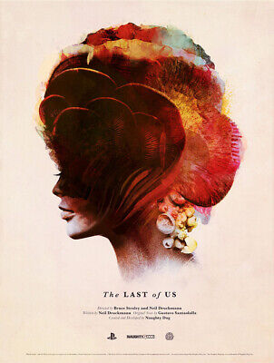 """""""The Last of Us"""" Art Print Poster, by Olly Moss & Jay Shaw 