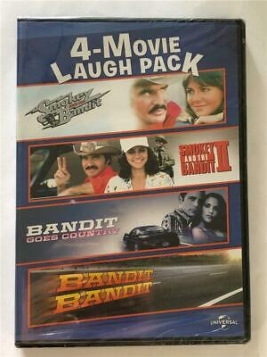 NEW Smokey and the Bandit 4 Movie Laugh Pack (DVD, 2016, 2-Disc Set)