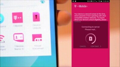 Unlock T-Mobile service Samsung S8/s7/s6/Note 8/S5 and others unlock app carrier