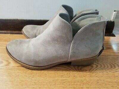 81e64b1cdc8314 JOURNEE COLLECTION WOMEN'S Grey Livvy Tassel Booties 8.5 - $10.00 ...