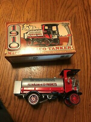 ERTL Collectibles Lot: 1910 Mack Texaco & 1951 GMC Panel Truck Coin Banks