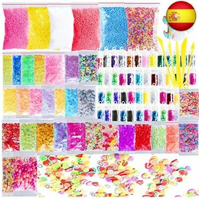 Slime Supplies Kit, Outee 91 paquetes Diy Slime Kit incluyen Bolas de espuma,
