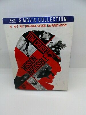 Mission: Impossible: The 5 Movie Collection [New Blu-ray] Boxed Set, Dolby, NEW