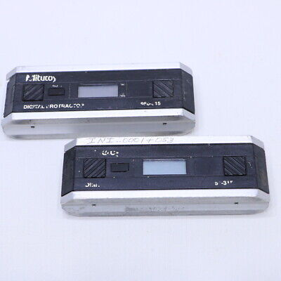 Lot Of 2 Mitutoyo Pro 360 Level 950-317  Digital Protractor