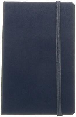 "Moleskine Classic Notebook, Hard Cover, Pocket (5"" x 8.25"") Ruled/Lined, Sapphi"