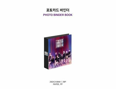 Twice World Tour 2019 Twicelights Official Goods Photocard Photo Binder Book New