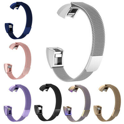 Magnetic Premium For Fitbit Alta HR ACE 7-Colors Band Strap Milanese Wristband