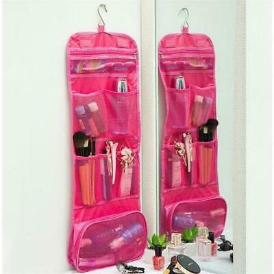 Makeup Storage Bag Toiletry Case Hanging Wash Pouch Cosmetic Travel Organizer AU