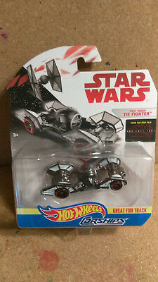 2016 Hot Wheels star wars carship  First Order Tie Figther