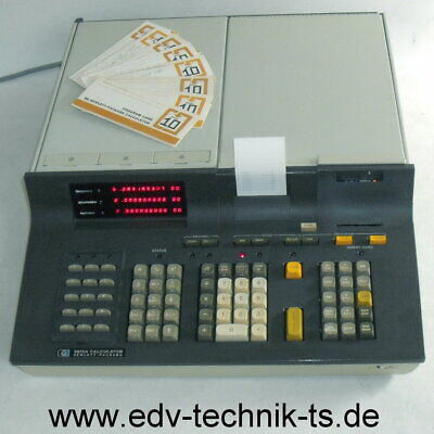 HP 9810A in very good condition with restauration of the card read/writer unit!