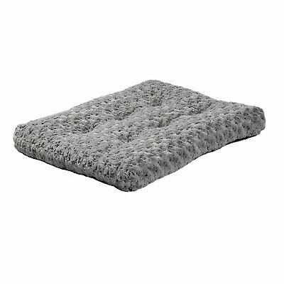 Midwest Quiet Time Ombre Gray Dog Bed