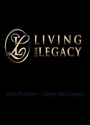Bob Proctor - Living The Legacy - Personal Development Course RRP $1895