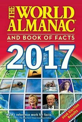 The World Almanac and Book of Facts 2017 2017 ed. Janssen, Sarah 1008 pages