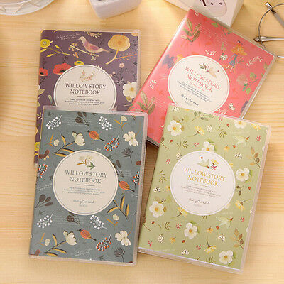 1X Charming Adorable Cartoon Small Notebook Handy Notepad Paper Notebook M&O