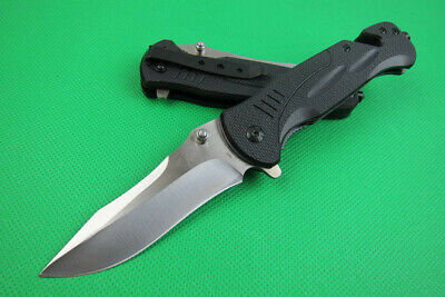 Assisted Opening Rescue Tactical Pocket Folding Knife Camping Survival Saber NEW