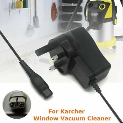 Window Vac Vacuum Battery Charger Plug Power Cable for KARCHER WV1 WV2 Premium