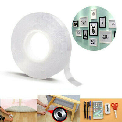 Double-sided Grip Tape Traceless Washable Adhesive Tape Nano Invisible Gel