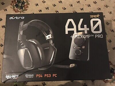 A40 TR Headset + MixAmp Pro TR for PS4, PS3, PC