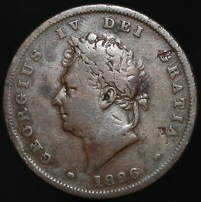 1826 | George IV Penny | Copper | Coins | KM Coins