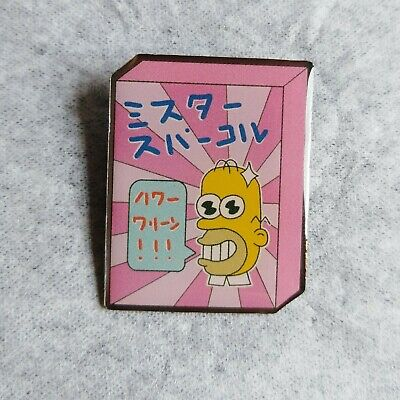 MR. SPARKLE Homer Simpson The Simpsons Enamel Pin Brooch Badge