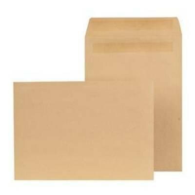 Opportunity Manilla C4 Envelopes Self Seal 90gsm (Pack of 250) Plain (8752)