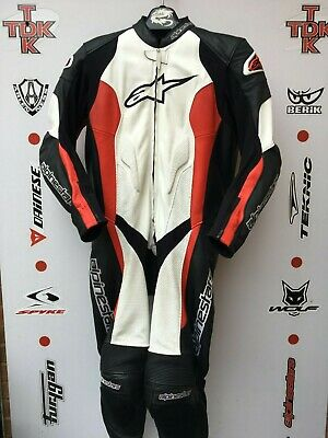 Alpinestars challenger one piece race suit with hump uk 46 Euro 56