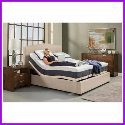 """Elite Electric Adjustable With 10"""" Air Beds W/ 50 Number Remotes"""