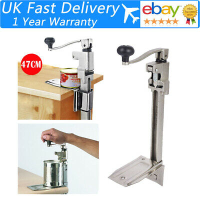 Catering Commercial Stainless Bench Can Opener/Tin Opener Heavy Duty UK Stock
