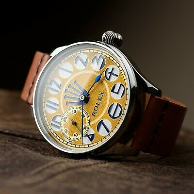 Rolex mens luxury vintage swiss watch vintage wristwatch mechanical movement