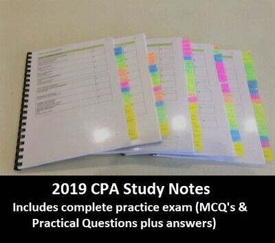 CPA Strategic Management Accounting HD study notes 2019