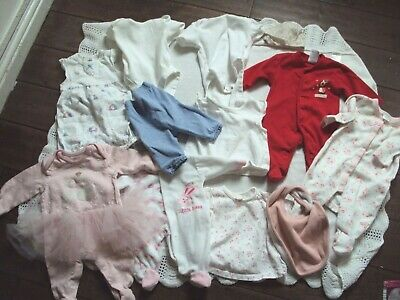 baby girls  bundle mixed items age tiny baby /newborn