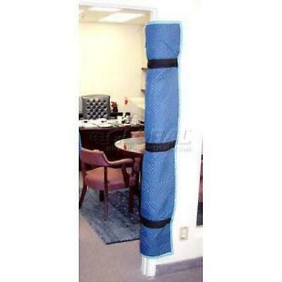 American Moving Supplies Padded Blue Quilted Fabric Door Jamb FC1005