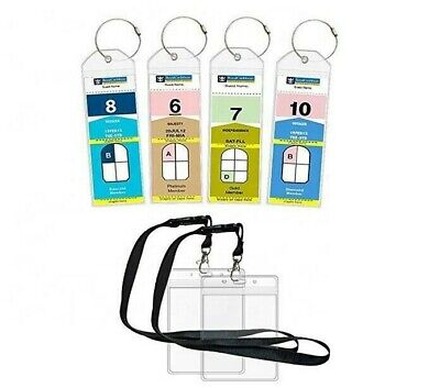 Cruise Ship Luggage Tag + ID Holders Great for ROYAL CARIBBEAN and CELEBRITY X