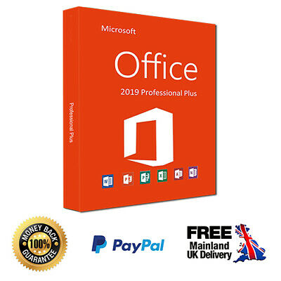 ⭐️🔑 Microsoft Office 2019 - Pro Plus Professional Genuine License Code 🔑⭐️