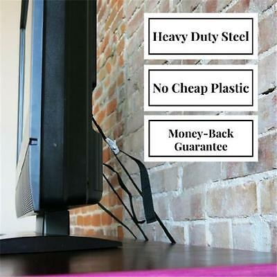 Anti-Tip Safty Straps for TV or Furniture Cosy Angel Pack Home Child Proof RE