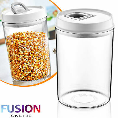 Airtight Storage Jar Kitchen Container Canister Food Preserving Biscuit Pasta