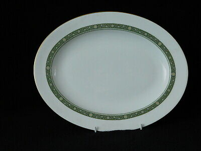 """Royal Doulton Rondelay Oval Serving Platter 13.5"""" ~ Never Used"""