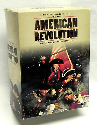 """""""The American Revolution"""" DVD Box Set, 5 Discs, History Channel 2005, Exc."""