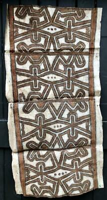 Old New Guinea Tapa Cloth, Collingwood Bay Area