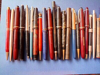 Job lot of Collectable vintage fountain pens