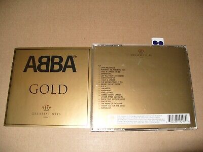 ABBA Gold: Greatest Hits 2004 cd + Inlays Excellent Condition