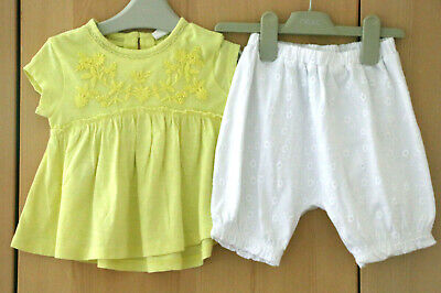 Next Baby Girls Top & Trousers Set Age 9-12 Months BNWT