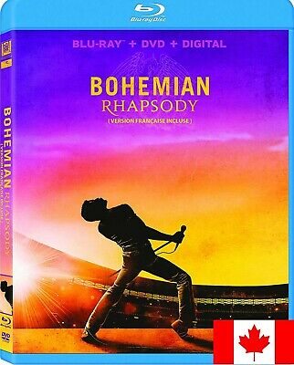 Bohemian Rhapsody (Bilingual) [Blu-ray + DVD + Digital Copy] ~ FAST SHIPPING!!