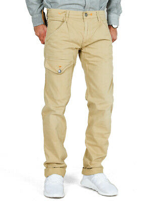 HTC Herren Designer Slim Fit Chino Cargo Hose | Stretch | W32 | UVP*219€