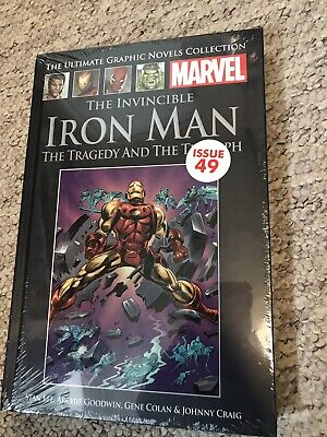 Marvel The Ultimate Graphice Novel Collection The Invincible Iron Man