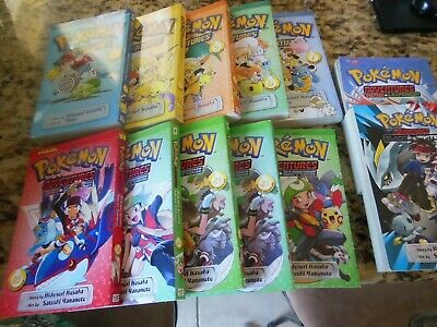 Pokemon Adventures, Black And White,,Ruby Sapphire lot of 12